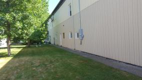 After a completed siding installation contractor project in the area